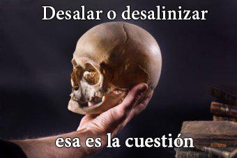 desalar-desalinizar