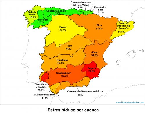 España-Cuenca-Estres-Hidrico