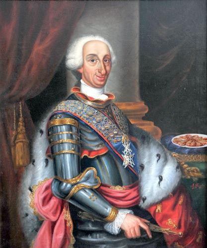 Carlos III de Borbón-Langostinos