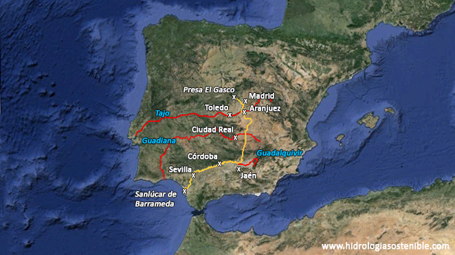 trazado-canal-Guadarrama