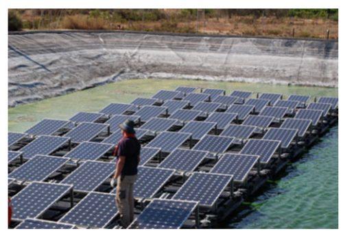 Sistema de Cubiertas Flotantes Fotovoltaicas (SCFFV)